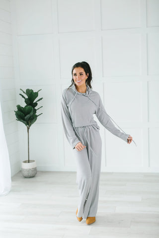 Animal Print PJ Set