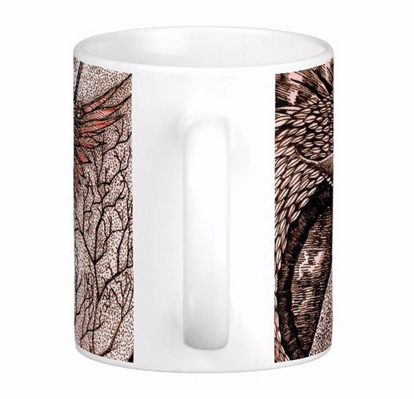 Mug - Tasse dragon contre hibou