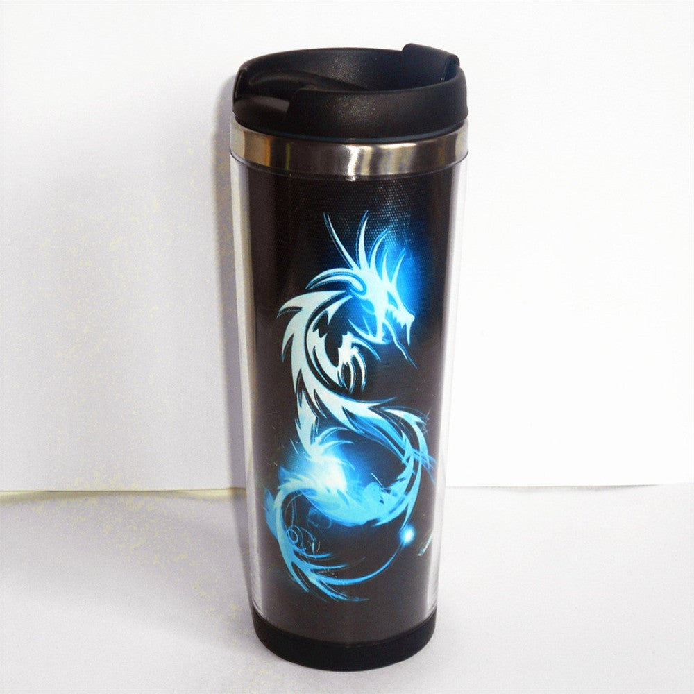 MUG - DRAGON LIGHT DOUBLE PAROIE ACIER INOXYDABLE
