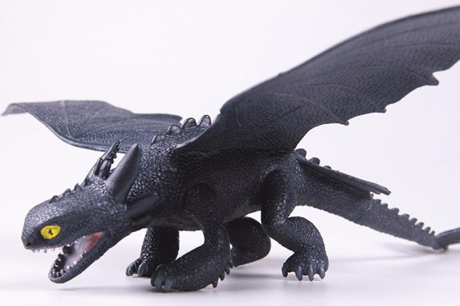 FIGURINE - DRAGONS ACTION FIGURES 4 MODELES