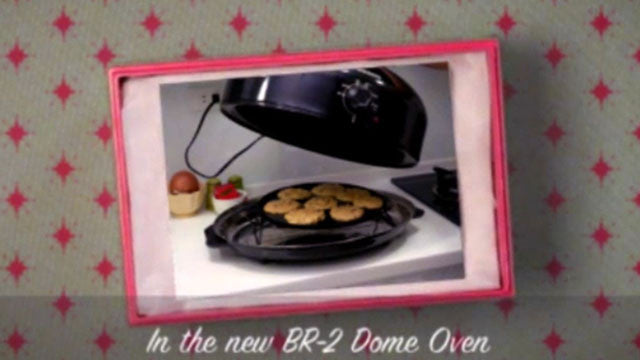 BR-2 Dome Oven - Make The Perfect Holiday Cookies