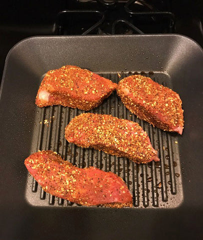 BR- Dome Oven Steak - Sear First In Pan