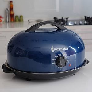 BR-2 Junior Dome Oven & Roaster (Navy Blue)