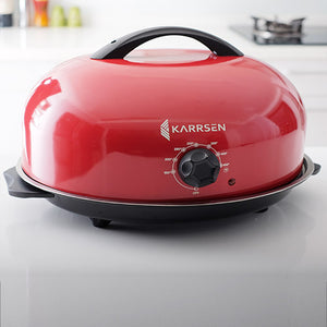 BR-2 Original Dome Oven & Roaster (Metallic Red)
