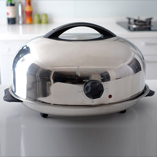BR-2 Original Dome Oven & Roaster (Stainless Steel)
