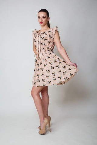 Anabelle Animal Print Day Dress