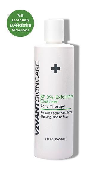 VIVANT BP 3% EXFOLIATING CLEANSER