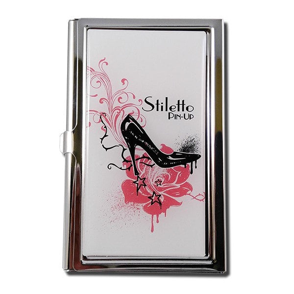 Black Stiletto - This style case has a retro but modern edgy feel to it.