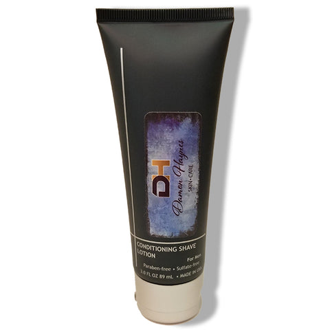 Conditioning Shave Lotion This formulation assists in helping the shaving blade glide