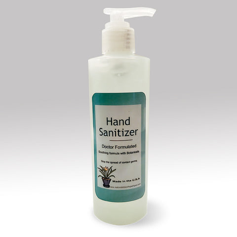 8oz - Naturale Touch Hand Sanitizer with Aloe and Vitamin E