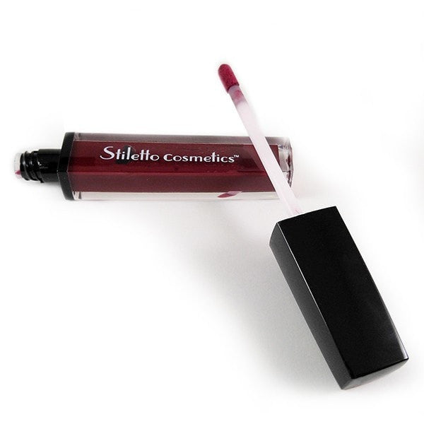 Seduction - A semi-matte burgundy red wine.