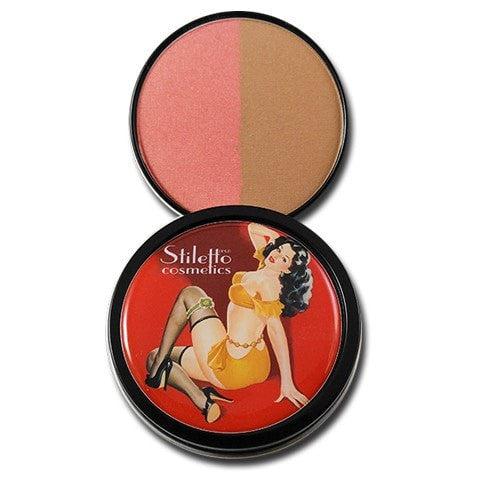 Temptation Bronzer/Blush duo - Stiletto Bronzers