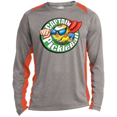 Long Sleeve Heather  T-shirt -Captain Pickleball