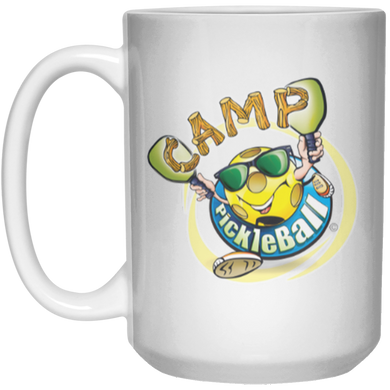 Mug - 15oz - Camp Pickleball