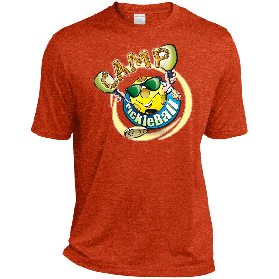 Heather  Dri-Fit Tee - Mens - Camp PickleBall