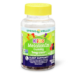 Melatonin Spring Valley Kids - 1 Mg 60 Gummies