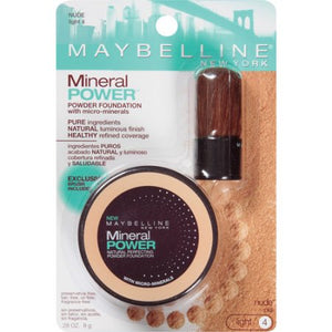 Base el Polvo Mineral Power de Maybelline