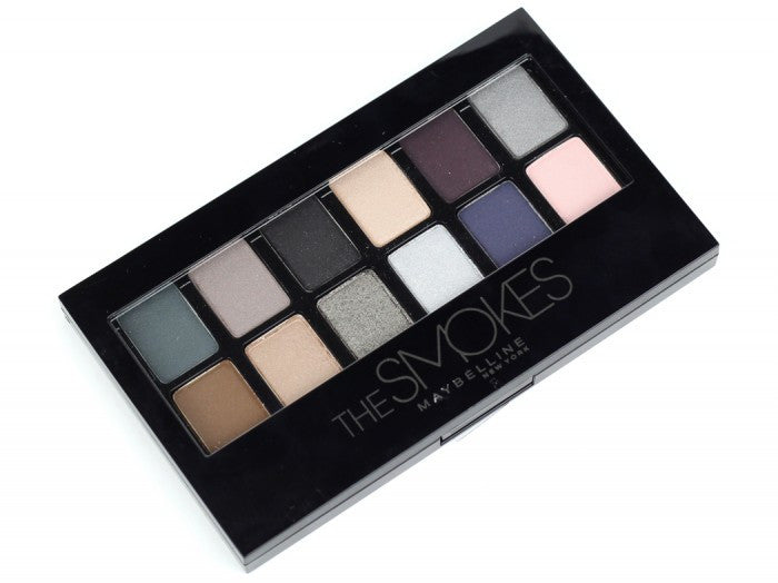 Set de sombras The Smokes de Maybelline