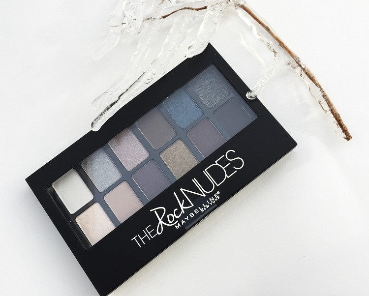 Set de sombras The Rock Nudes de Maybelline