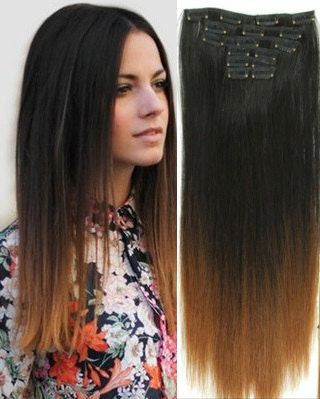 EXTENSIONES DE CABELLO CALIFORNIANO LACIO NATURAL CON CLIPS 50cm