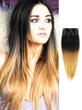 EXTENSIONES DE CABELLO LACIO CALIFORNIANO NATURAL CON CLIPS 60cm