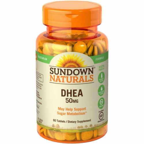 Sundown Naturals DHEA Tablets 50mg, 60CT