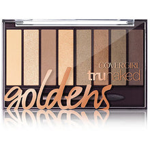 Set de sombras TRUNAKED GOLDEN de Covergirl  810