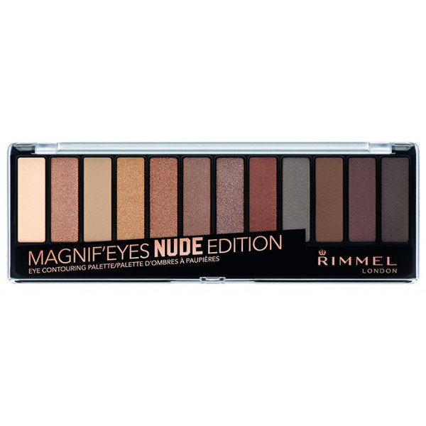 SOMBRAS MAGNIF EYES NUDE EDITION - RIMMEL LONDON