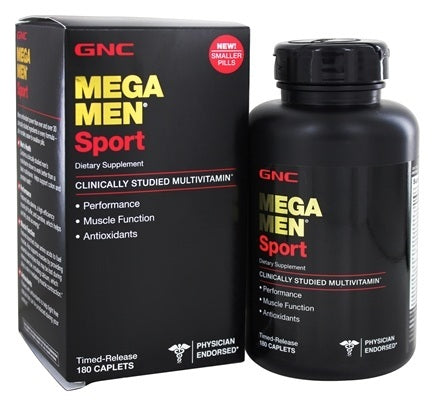 Mega Men Sport GNC – 180caps