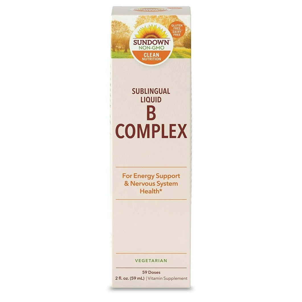 Sundown Naturals® Vitamin B Complex Sublingual Liquid, 2 Ounces