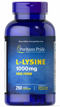 L-Lysine 1000 mg - Puritans Pride - 250 tabletas