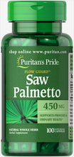 Saw Palmetto Puritans Pride  450mg 100 capsulas