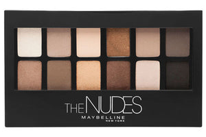 Set  de Sombras The Nudes de Maybelline