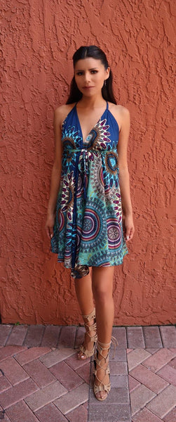 Printed Dress - FASHIONEVOLVER