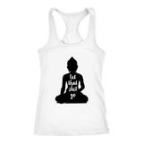 Let That Shit Go Racerback Tank Top - FASHIONEVOLVER