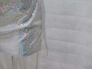 BLING IS IN Sequined Mini Dress