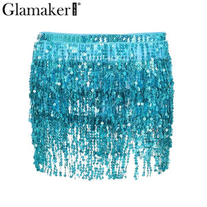 BACHATA Sequin Mini Skirt