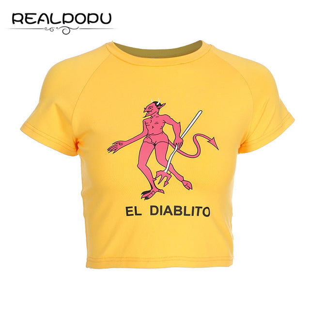 DIABLITO Crop Top