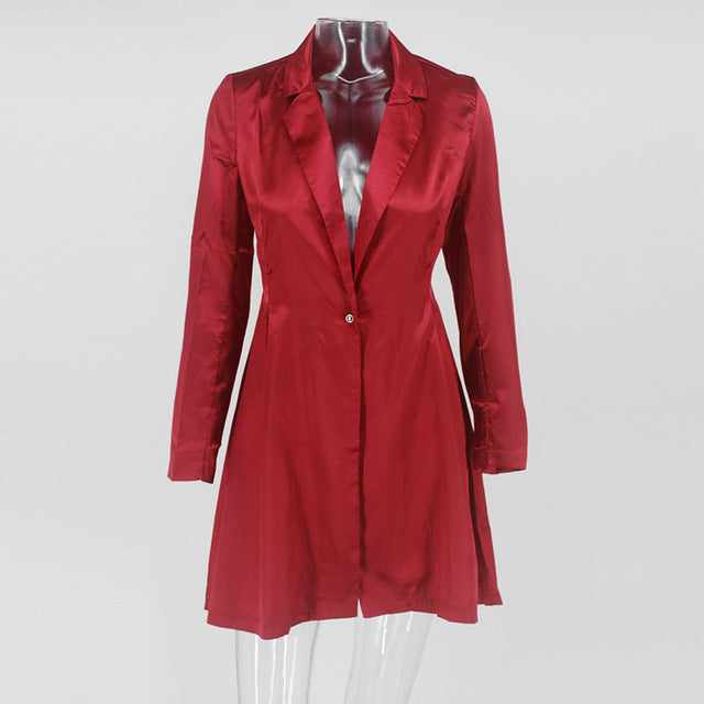 passionate mini dress / jacket