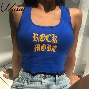 rock more crop top