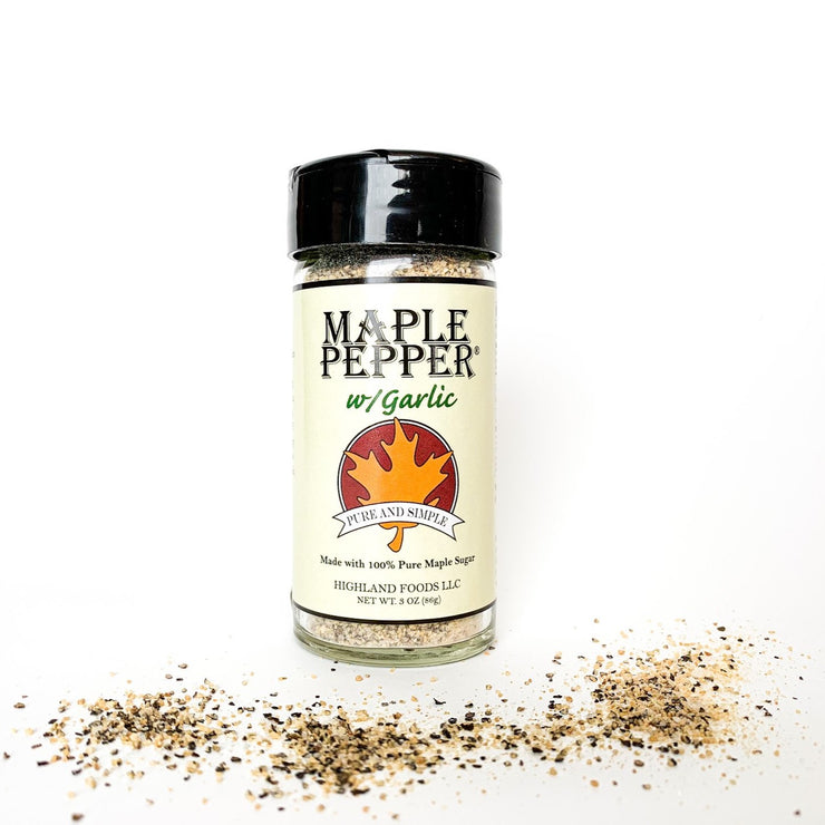 Maple Pepper with Garlic Seasoning - Scrumptious Secrets