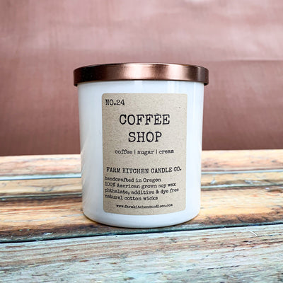 Coffee Shop Soy Candle - Scrumptious Secrets