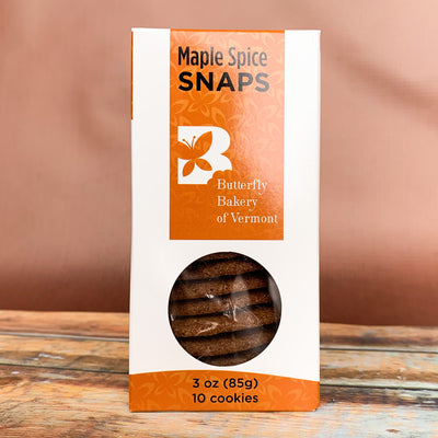 Maple Spice Snaps - Scrumptious Secrets