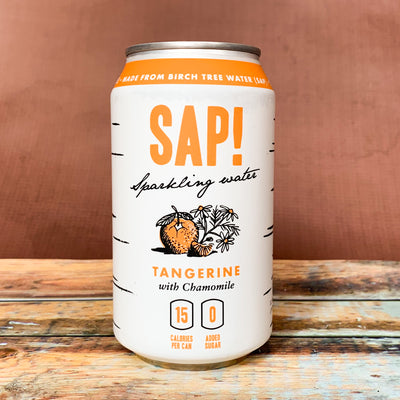 Tangerine and Chamomile Sparkling Water - Scrumptious Secrets
