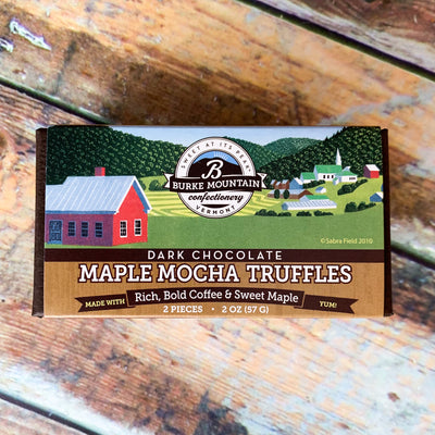 Dark Chocolate Maple Mocha Truffles - Scrumptious Secrets