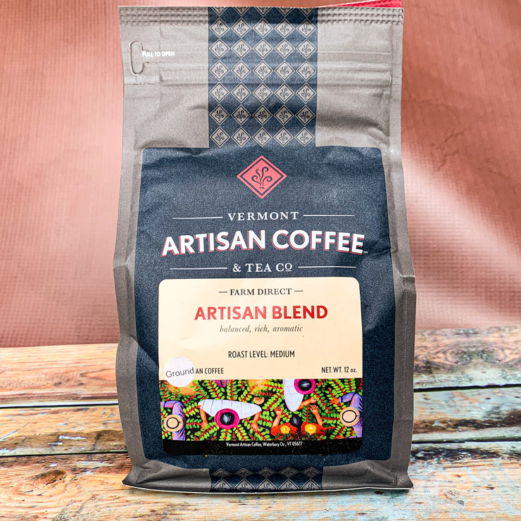 Artisan Blend - Medium Roast Coffee - Scrumptious Secrets