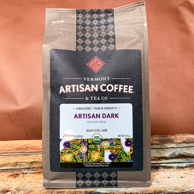 Artisan Dark - Dark Roast Coffee - Scrumptious Secrets