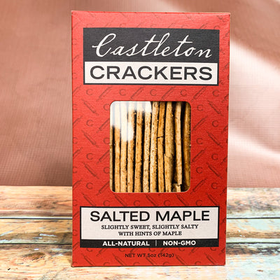 Salted Maple Crackers - Scrumptious Secrets