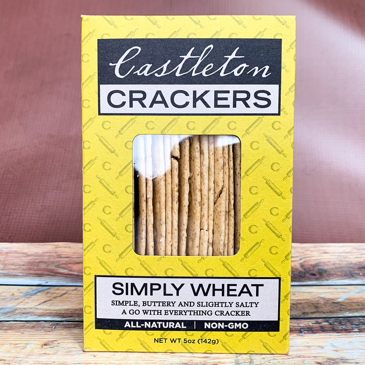 Simply Wheat Crackers - Scrumptious Secrets