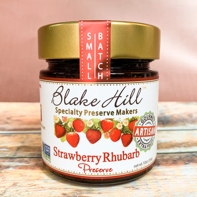 Strawberry Rhubarb Preserve - Scrumptious Secrets